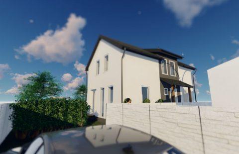 (Ref.:HIC117) Modern, új építésű 100 m2, 5 szobás ECO tégla családi ház Levélen kivitelezőtől eladó