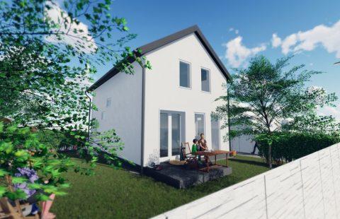 (Ref.:HIC121) Modern, új építésű 100 m2, 5 szobás ECO tégla családi ház