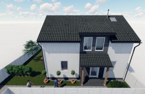 (Ref.:HIC123) Modern, új építésű 116 m2, 5 szobás ECO tégla családi ház