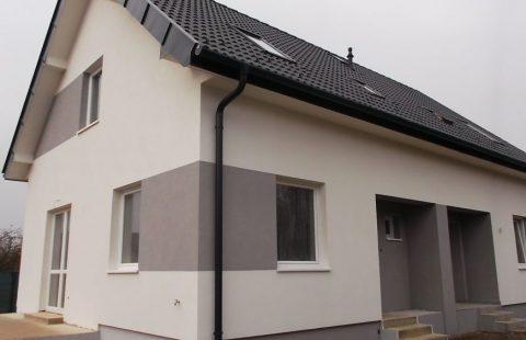 (Ref.:HIC121) Modern, új építésű 100 m2, 5 szobás ECO tégla családi ház Levélen kivitelezőtől eladó